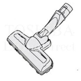 東芝 掃除機 ヘッド クリーナー用床ブラシ 4145H606  掃除 機 TOSHIBA ※取寄せ品