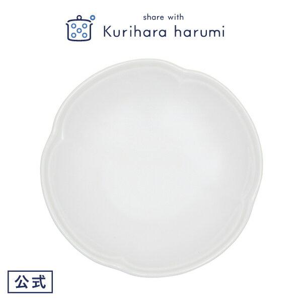 【ギフト包装可】食器 ミニフラワープレート クローバー 白/栗原はるみ