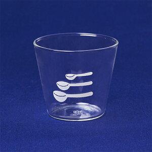 【栗原はるみ/洋食器/ギフト包装可】 耐熱ガラスプリンカップ メジャースプーン