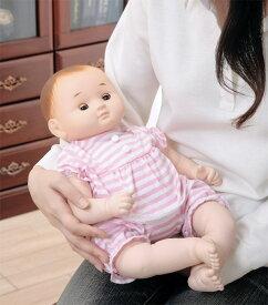 【ランキング1位獲得】癒しの赤ちゃん人形 「のんちゃん」(ぱちぱちタイプ) おもちゃ 着せ替え人形 ドールハウス 着せ替え人形お座りもできて、スヤスヤ寝んねも♪ セラピー人形子供情操教育誕生日プレゼントベビー服着せ替え人形遊びブルーピンククリスマスギフト