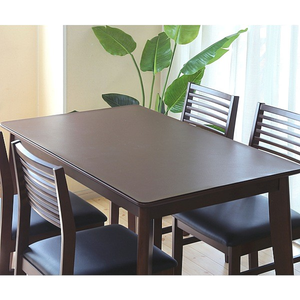 Achilles アキレス 本革調 テーブルマット 90×150キズを隠せて新品同様のテーブルに見えます!日本製です! テーブルクロス テーブルマット 1mm 1.5mm キズ キズ 保護 滑り止め モダン おしゃれ 北欧 レザー 本革