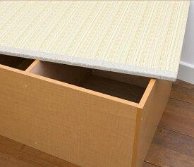 カーペット・マット・畳 畳 PP樹脂畳ユニットボックス ハイタイプ 幅120日本製!収納できる畳ボックス♪畳 スツール 収納 PP-H120-NA PP-H120-BR 和家具 畳 畳ボックス スツール 収納 ボックス ケース 腰かけ