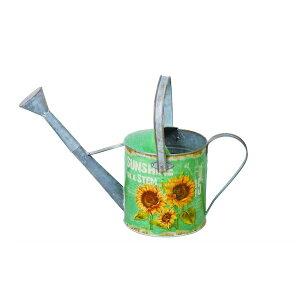 ジョウロ Sunshine 48cm ガーデニング・農業 散水・潅水用具 ジョーロ82281 水差し ジョーロ ジョウロ 鉢 花壇 水やり 庭 ガーデニング グリーン 緑 花 お洒落 ガーデン 可愛い アンティーク イン