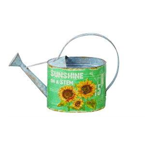 ジョウロ Sunshine 41cm ガーデニング・農業 散水・潅水用具 ジョーロ82282 水差し ジョーロ ジョウロ 鉢 水やり 庭 ガーデニング グリーン 緑 花 お洒落 ガーデン 可愛い アンティーク イングリッ