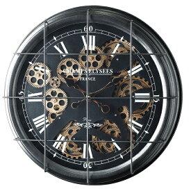 置き時計・掛け時計 掛け時計 Gear Clock Bタイプ50303 時計 クロック とけい ディスプレイ 壁掛け お洒落 インテリア ギア スケルトン Clock 機能性 モダン 贈り物 歯車