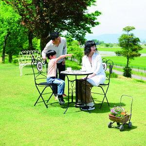 テーブル Bタイプ エクステリア・ガーデンファニチャー ガーデンファニチャー テーブル85807テーブル 机 つくえ タイル ガーデン ガーデニング 庭 置物 アンティーク お洒落 可愛い イングリ