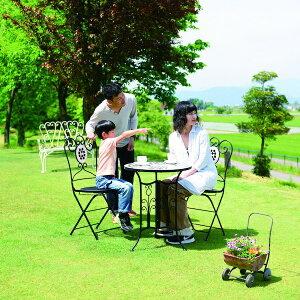 エクステリア・ガーデンファニチャー ガーデンファニチャー チェア チェアー Cタイプ85808 椅子 いす チェア タイル ガーデン ガーデニング 庭 置物 アンティーク お洒落 可愛い イングリッシ