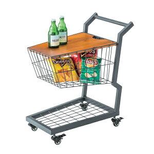 カート サイドテーブル テーブル サイドテーブルPW-405 テーブル 収納 ショッピングカート ポップ おしゃれ キャスター 店舗 ディスプレイ テレワーク リモートワーク ステイホーム 在宅