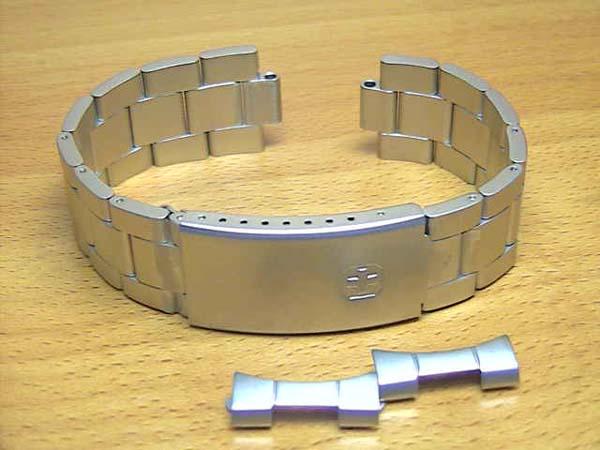 スイスミリタリー 腕時計 クラシック用 18mm ステンレススチール 純正 時計ベルト バンド バネ棒サービス 18mm 全国送料180円のメール便がご利用いただけます。 【安心の正規輸入品】