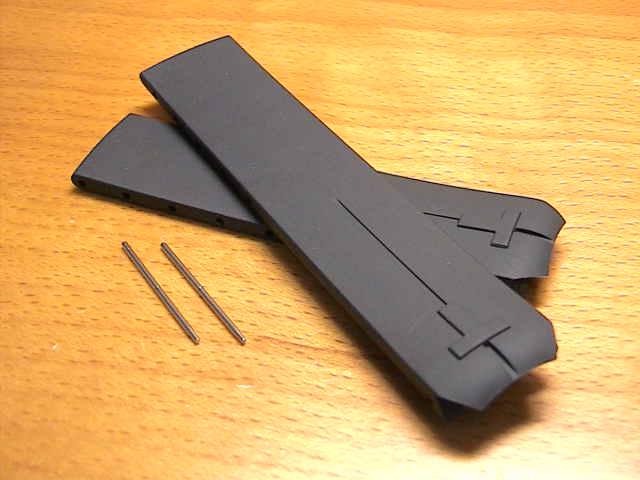 TISSOT☆ティソ☆T-タッチ用 純正 ラバー 時計バンド 時計ベルト 黒色 ブラック 20mm T610014614