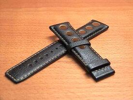 TISSOT☆ティソ☆ティソ PRS516用 純正時計 牛革 時計バンド 時計ベルト 黒色 ブラック 20mm 腕時計用 時計ベルト 時計用バンド