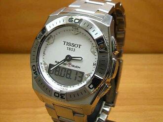 ティソ 시계 TISSOT RACING-TOUCH 레이싱 터치 T0025201103100 남성