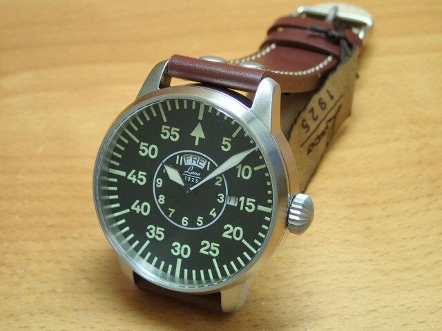 ラコ 腕時計 Laco パイロットウォッチ 861806 Zurich チューリッヒ 42MM クォーツ優美堂のLaco ラコ腕時計はメーカー保証2年つきの正規販売店商品です。