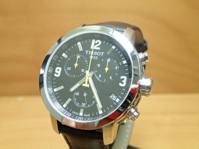 ティソ 腕時計 TISSOT PRC200 クロノグラフクォーツ T0554171605700 【文字盤カラー ブラック】 分割払いもOKです