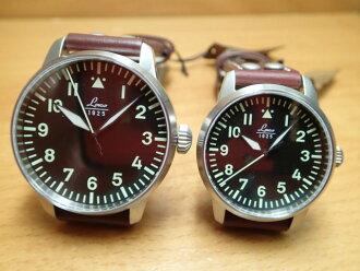 ラコ 시계 Laco 쌍 시계 파일럿 21 자동 페어 워치 남성용 861688 여성용 861798