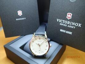 ビクトリノックス 腕時計 Alliance アライアンス メカニカル(自動巻き)レザーストラップ 241666