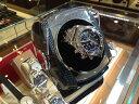 ワインディングマシーン 腕時計 自動巻き上げ機 マイクロスイッチ付 カーボン柄