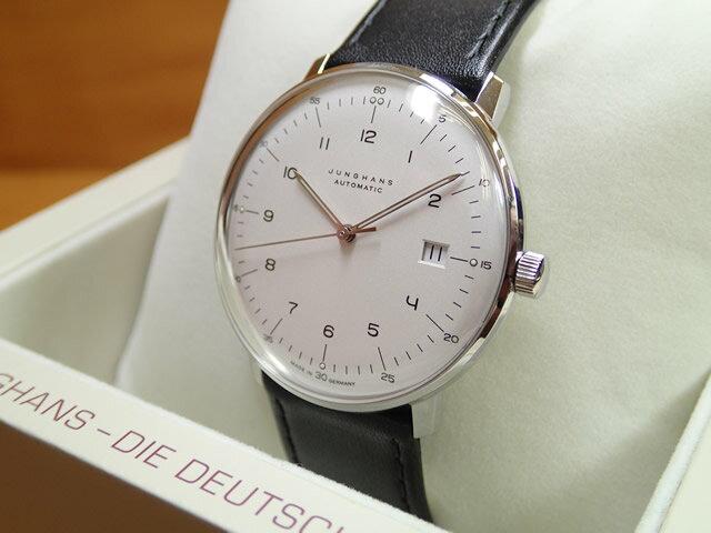 ユンハンス マックスビル バイユンハンス 腕時計 MAX BILL BY JUNGHANS Automatic 38mm マックスビル オートマチック 027 4700 00 正規商品