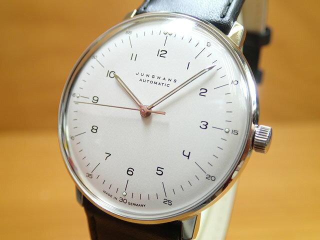 ユンハンス マックスビル バイユンハンス 腕時計 MAX BILL BY JUNGHANS Automatic 38mm マックスビル オートマチック 027 3500 00 正規商品