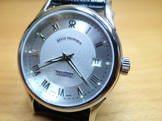 Review torment watches REVUE THOMMEN WALLSTREET Wall Street men's size 20002532 automatic winding