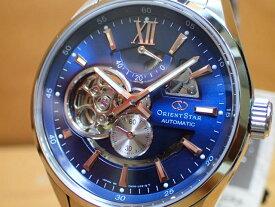 オリエントスター ORIENT 腕時計 オリエントスター プレステージショップ限定モデル セミスケルトン 機械式 自動巻き WZ0221DK メンズ 革バンド(替えバンド)つき最終入荷いたしました。生産終了モデル 5本確保
