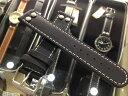 ラコ 腕時計 Laco 時計バンド ベルト 20mm 黒色 ブラック ラコ以外の時計でも付けてほしい 全国送料180円のメール便が…