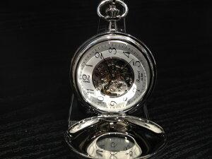 Rapport ラポート 懐中時計 ポケットウォッチ 両開き手巻き式 スケルトン PW47 正規輸入品1898年イギリスのロンドンに誕生した老舗ブランドRapport ラポート ポケットウォッチ 懐中時計です