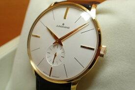 ユンハンス マイスター ハンドワインド 手巻き式 腕時計 イエローゴールドPVD加工 meister hand wind 37.7mm 027 5201 00 正規商品