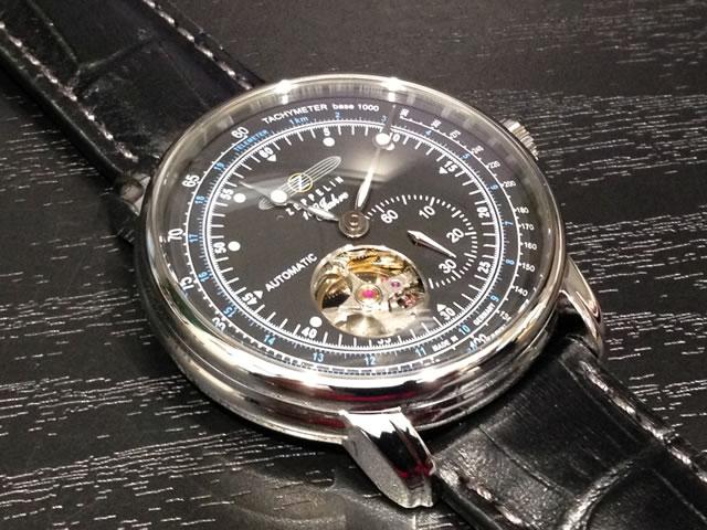 ツェッペリン 腕時計 ZEPPELIN 100周年記念モデル 76622 メンズ 【正規輸入品】 セミスケルトン仕様の自動巻き最新作