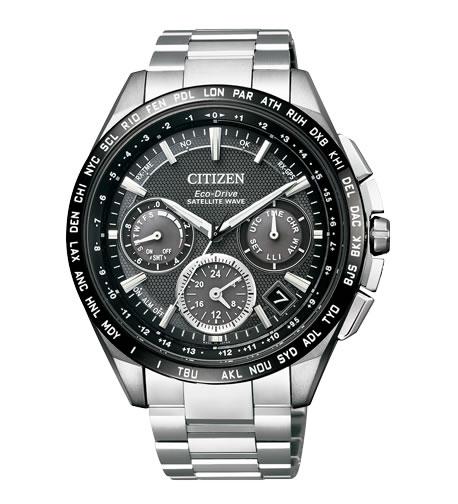 ラグビー日本代表公認モデル CITIZEN シチズン ATTESA アテッサ エコドライブ GPS衛星電波時計 腕時計 メンズ CC9015-54E