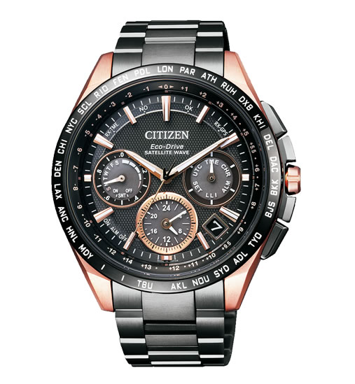 ラグビー日本代表公認モデル CITIZEN シチズン ATTESA アテッサ エコドライブ GPS衛星電波時計 腕時計 メンズ CC9016-51E