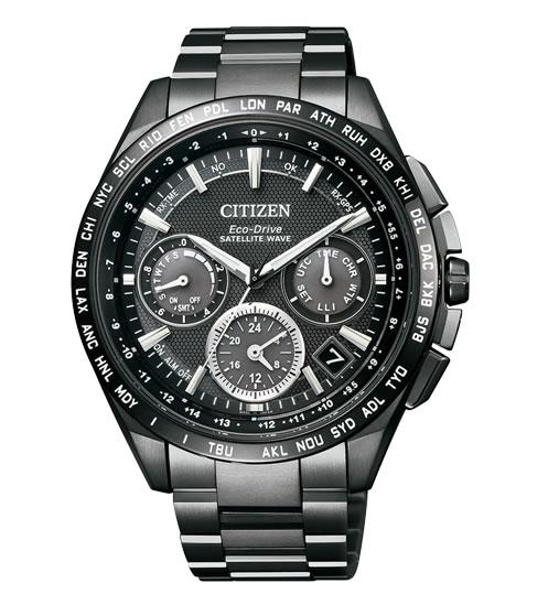 ラグビー日本代表公認モデル CITIZEN シチズン ATTESA アテッサ エコドライブ GPS衛星電波時計 腕時計 メンズ CC9017-59E