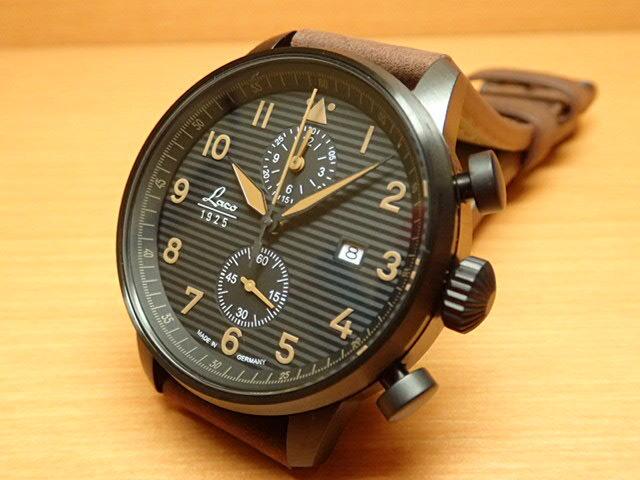 ラコ 腕時計 Laco 861976 Engadin エンガディン クォーツ(電池式) 42mm優美堂のLaco ラコ腕時計はメーカー保証2年つきの正規販売店商品です