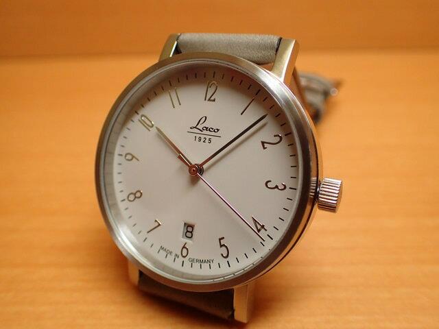 ラコ Laco 862063 Cottbus コトブス 38mm 自動巻き優美堂のLaco ラコ腕時計はメーカー保証2年つきの正規販売店商品です。
