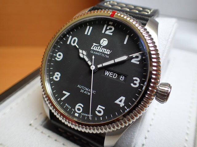 チュチマ グラスヒュッテ TUTIMA GLASHUTTE 腕時計 Grand Flieger Classic Automatic 6102-01