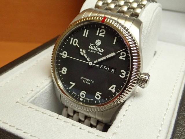チュチマ グラスヒュッテ TUTIMA GLASHUTTE 腕時計 Grand Flieger Classic Automatic 6102-02