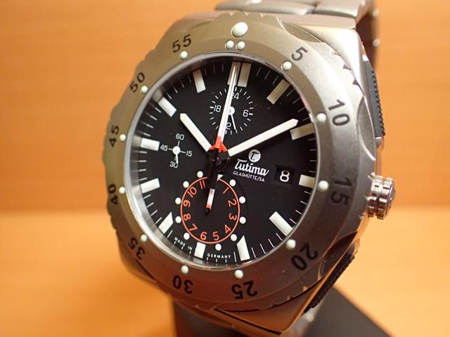 チュチマ グラスヒュッテ TUTIMA GLASHUTTE 腕時計 M2 Pioneer 6451-03