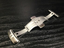 TISSOT☆ティソ☆純正 革バンド専用 プッシュ式バタフライバックル Dバックル 22mm 腕時計用 時計ベルト 時計用バンド T640028387 バンドは別売りです
