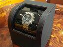 【腕時計王 雑誌掲載】 IGIMI ワインディングマシーンオリジナル 一本巻き用 合皮 黒色 ウォッチ ワインダー 自動巻き上げ機 【画像の腕時計はイメージ用で品物に含まれません】