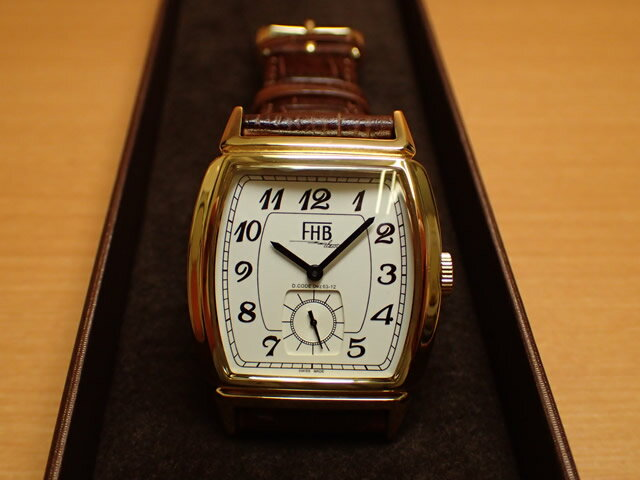 FHB エフエイチビー 腕時計 Liamシリーズ LIAM Series F903-YW 【正規輸入品】