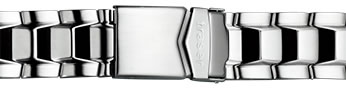 Traser トレーサー 腕時計 純正 ナビゲーター専用 メタルブレスレット バンド ベルト バネ棒つき SILVER シルバー【正規輸入品】22mm
