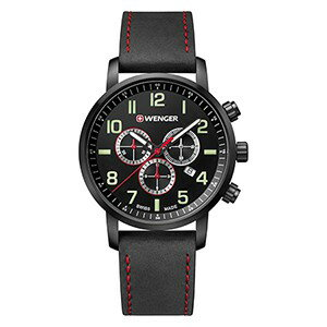 WENGER (ウェンガー) 腕時計 Attitude Chrono 01.1543.104 復活e優美堂のウェンガーは安心のメーカー保証3年付き日本正規商品です。