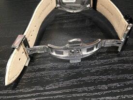 HAMILTON☆ハミルトン☆ 純正 Dバックル 時計ベルト バンド 腕時計 革バンド専用 尾錠 ハミルトン 純正バタフライバックル 16mm 18mm 20mm H640000150, H640000151, H640000152 バンドは別売りです