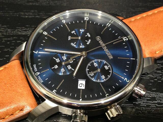 WENGER (ウェンガー) 腕時計 Urban Classic Chrono 01.1743.104 復活