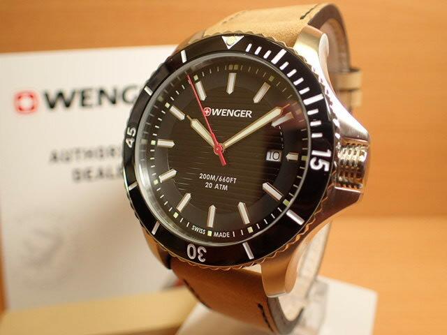 WENGER (ウェンガー) 腕時計 Seaforce 01.0641.125 復活