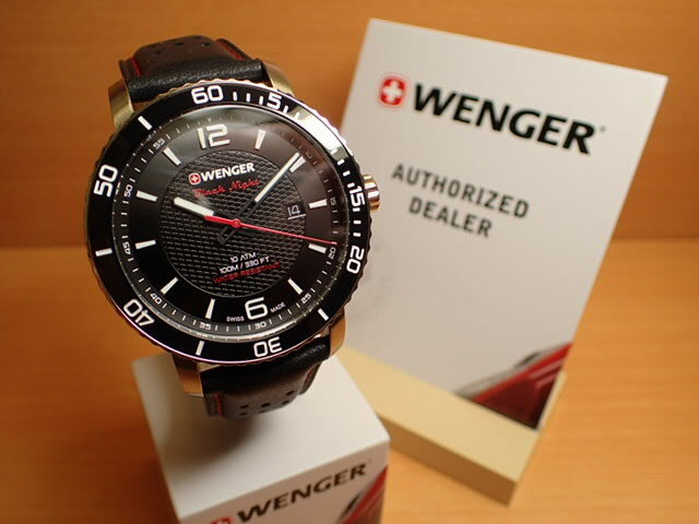 WENGER (ウェンガー) 腕時計 Roadster Black Night 01.1841.101 復活