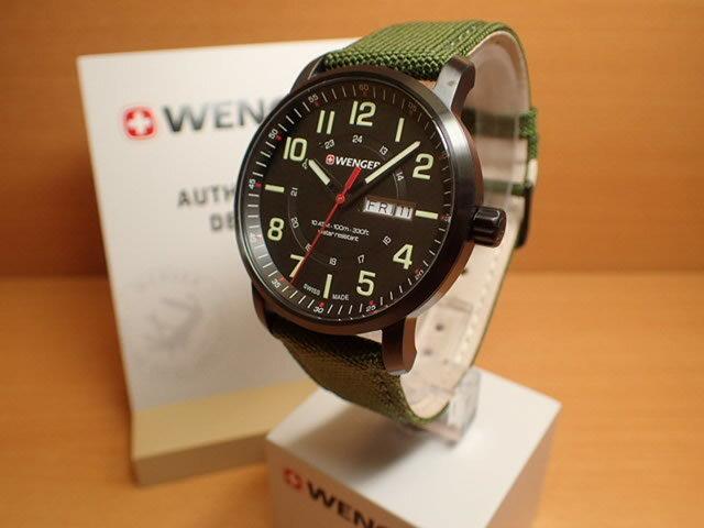 WENGER (ウェンガー) 腕時計 Attitude Day Date 01.1541.104 復活
