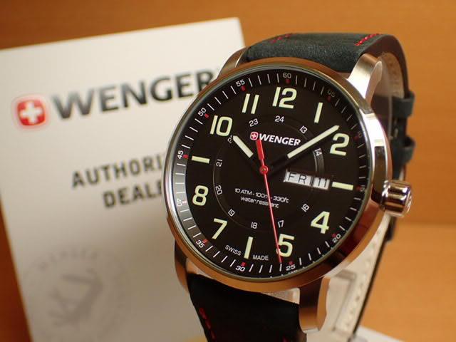 WENGER (ウェンガー) 腕時計 Attitude Day Date 01.1541.101 復活