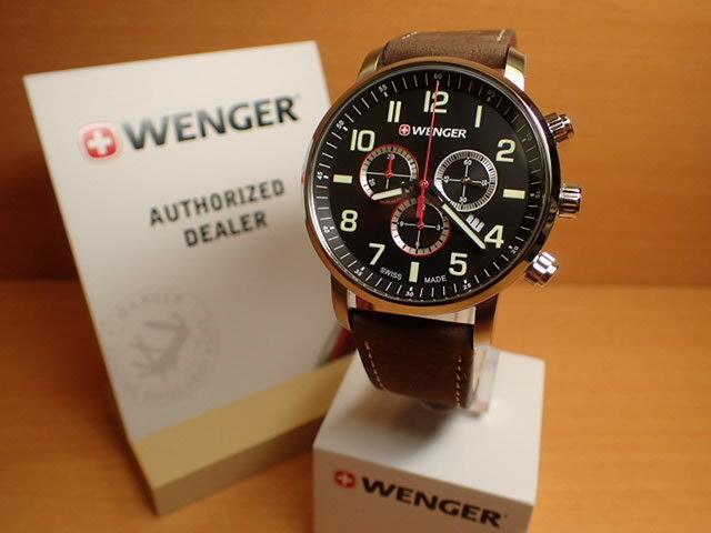 WENGER (ウェンガー) 腕時計 Attitude Chrono 01.1543.103 復活