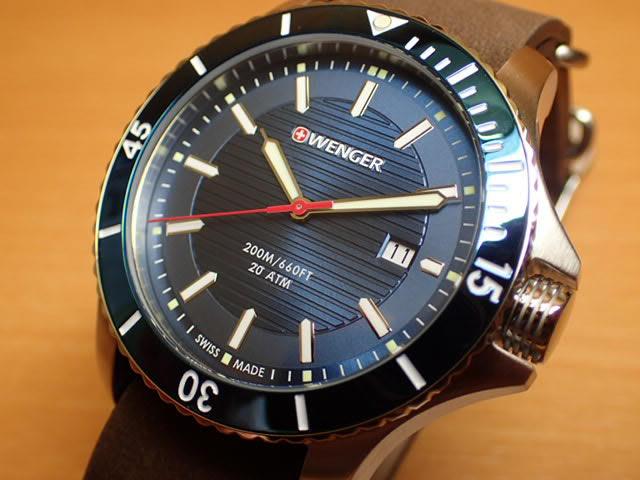 WENGER (ウェンガー) 腕時計 Seaforce 01.0641.121 復活